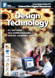 Design Technology Resources Brochure