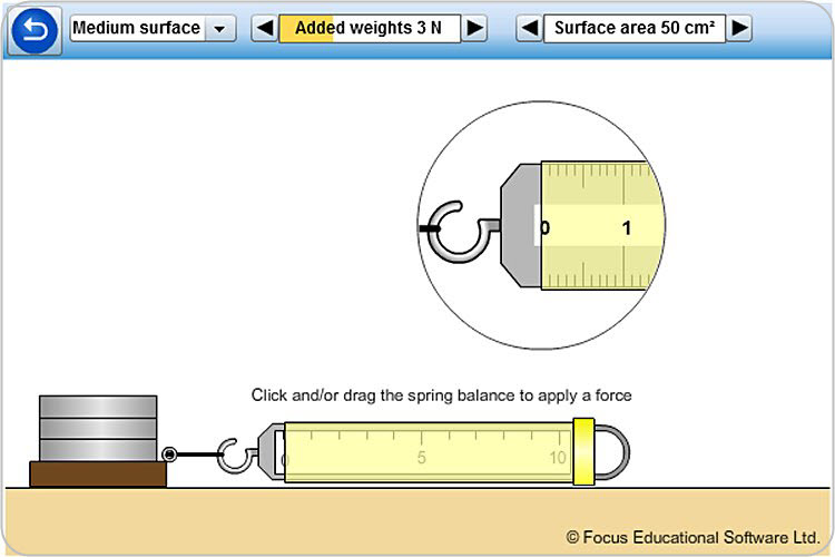 Friction Experiment By Focus Educational Software