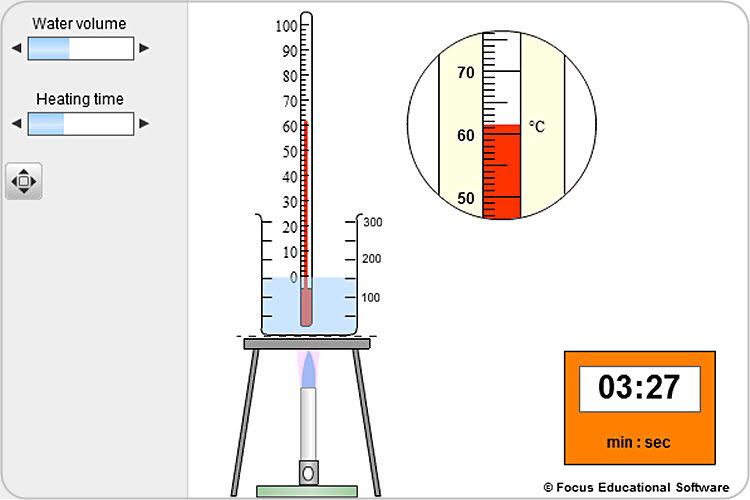 Essential Science: Heat and Temperature by Focus Educational Software