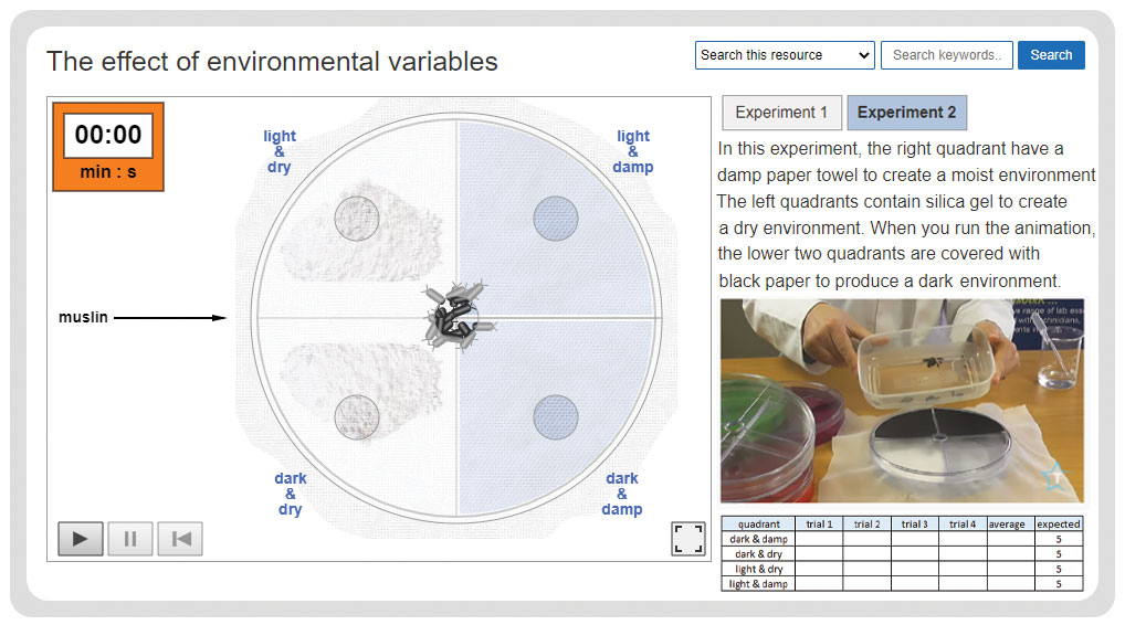 effect of environmental variables