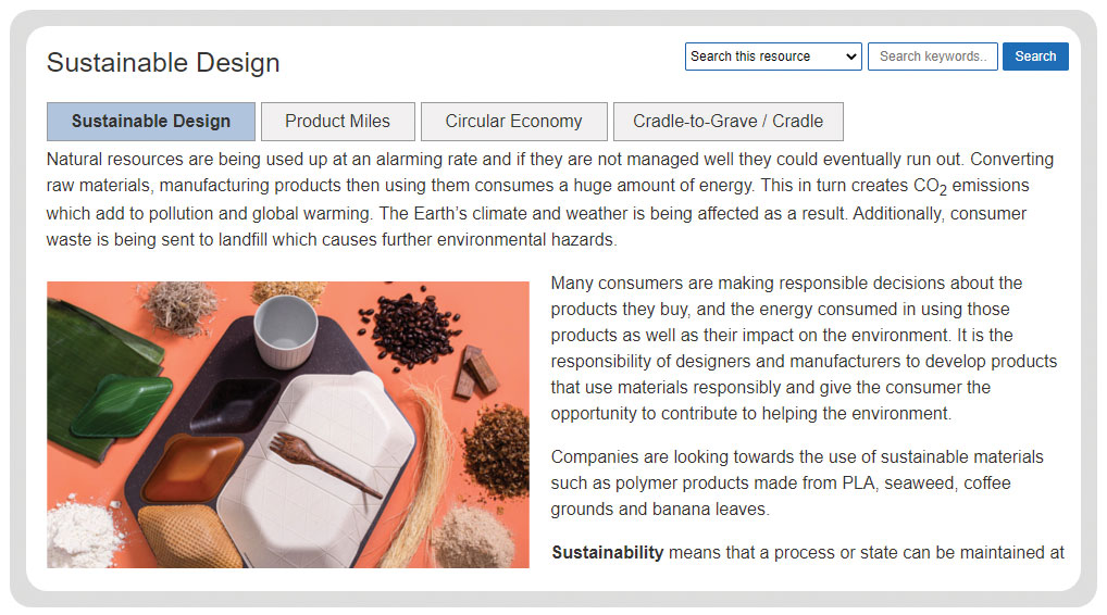 polymer materials ecological and social footprint
