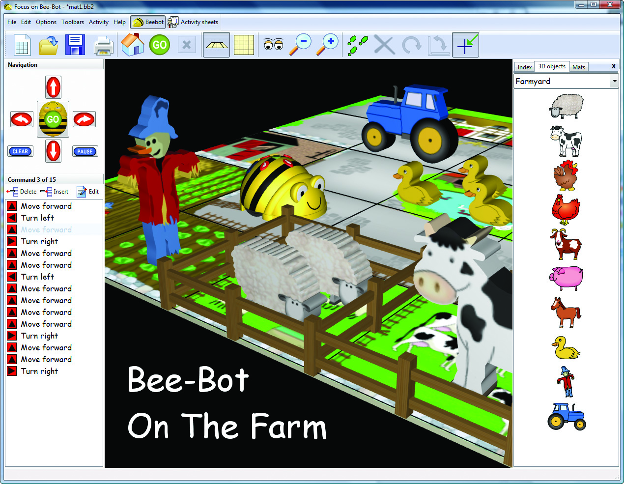 Bee-Bot 2 Farmyard
