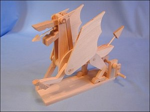 Wooden Mechanical Toys