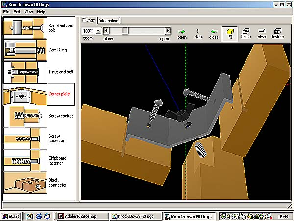 Design technology wood joints by focus educational software for Wood house design software