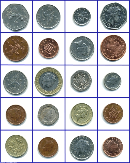 find the different coins