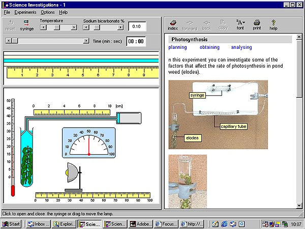 Science investigations 1 by focus educational software sc 1biology ccuart Images