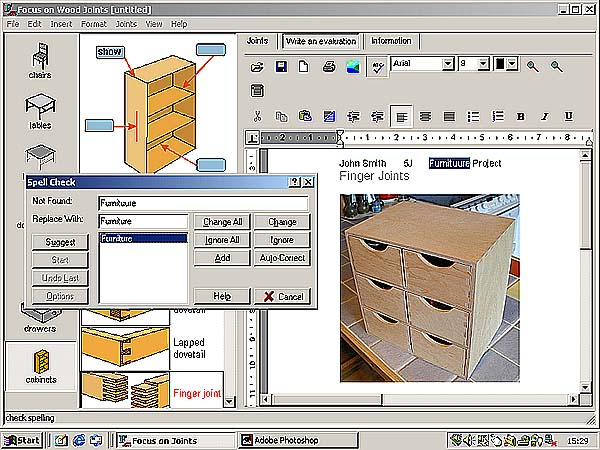 woodwork design program