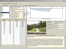 River flow analysis