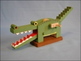 Wooden Crocodile Model Kit Product Link