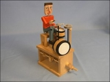 Wooden Drummer Model Kit Product Link