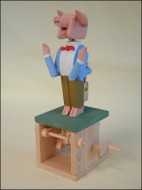 Wooden Perky Porky Model Kit Product Link